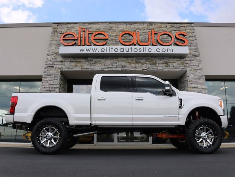 2017 ford f 250 super duty 4x4 platinum 4dr crew cab 6 8 ft sb pickup in jonesboro ar elite. Black Bedroom Furniture Sets. Home Design Ideas