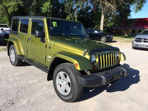 2007 Jeep Wrangler Unlimited for sale in Fremont, MI