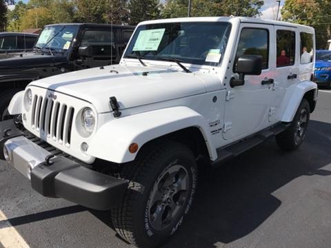 2017 Jeep Wrangler Unlimited for sale in Fremont, MI