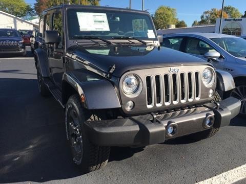 2017 Jeep Wrangler Unlimited for sale in Fremont MI