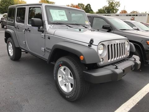 2018 Jeep Wrangler Unlimited for sale in Fremont MI