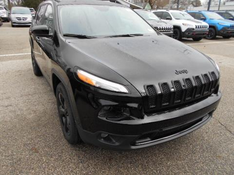 2017 Jeep Cherokee for sale in Fremont MI