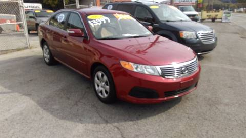 2009 Kia Optima for sale at Route 65 Motors, llc in Ellwood City PA