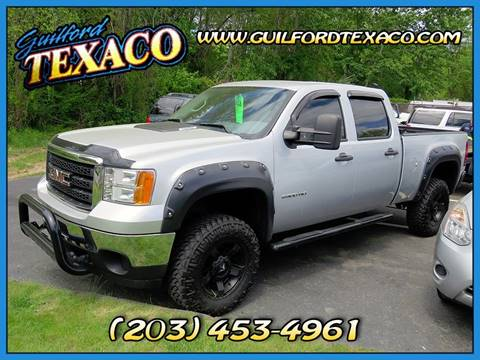 2012 GMC Sierra 2500HD for sale at GUILFORD TEXACO in Guilford CT