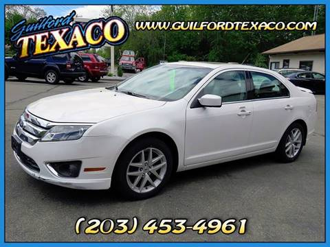 2010 Ford Fusion for sale at GUILFORD TEXACO in Guilford CT