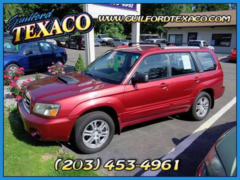 2004 Subaru Forester for sale at GUILFORD TEXACO in Guilford CT