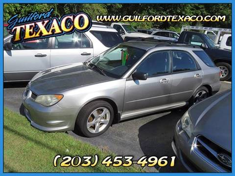2006 Subaru Impreza for sale at GUILFORD TEXACO in Guilford CT