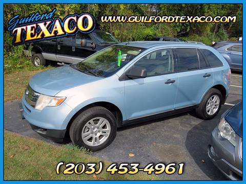 2008 Ford Edge for sale at GUILFORD TEXACO in Guilford CT