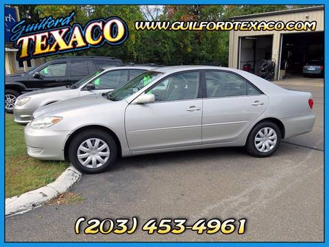 2005 Toyota Camry for sale at GUILFORD TEXACO in Guilford CT