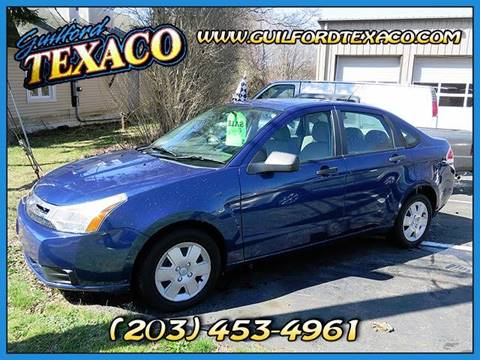 2009 Ford Focus for sale at GUILFORD TEXACO in Guilford CT