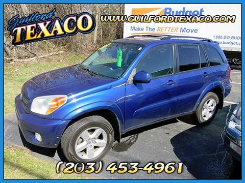 2004 Toyota RAV4 for sale at GUILFORD TEXACO in Guilford CT