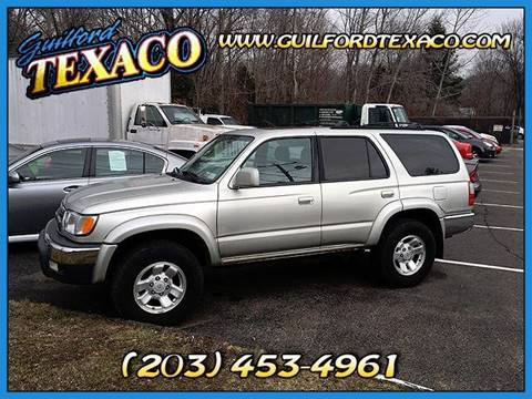 2000 Toyota 4Runner for sale at GUILFORD TEXACO in Guilford CT