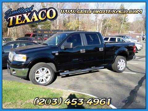 2008 Ford F-150 for sale at GUILFORD TEXACO in Guilford CT