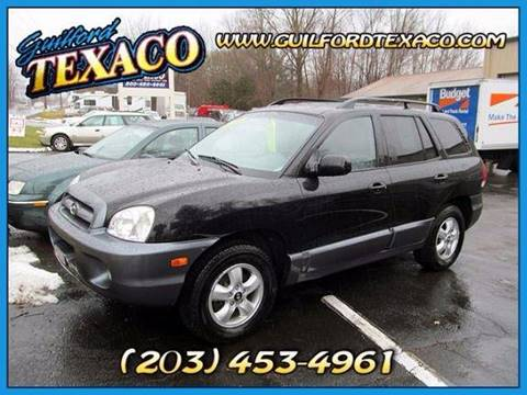 2005 Hyundai Santa Fe for sale at GUILFORD TEXACO in Guilford CT