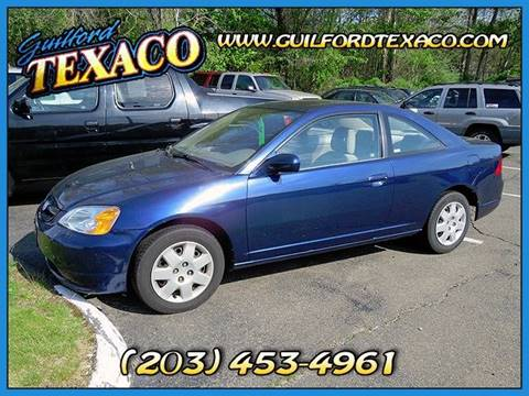 2002 Honda Civic for sale at GUILFORD TEXACO in Guilford CT