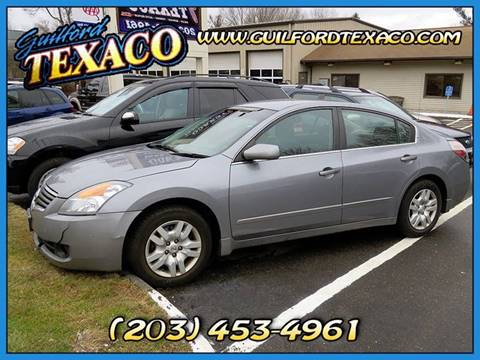 2009 Nissan Altima for sale at GUILFORD TEXACO in Guilford CT