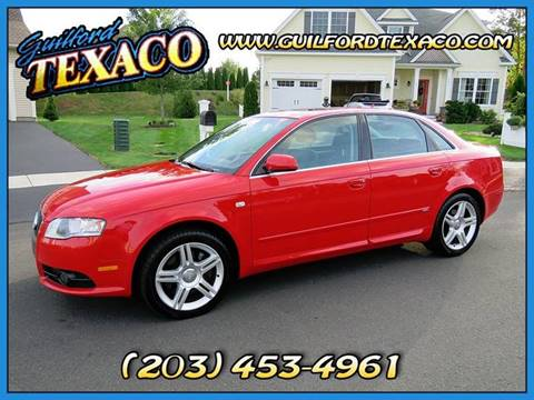 2008 Audi A4 for sale at GUILFORD TEXACO in Guilford CT