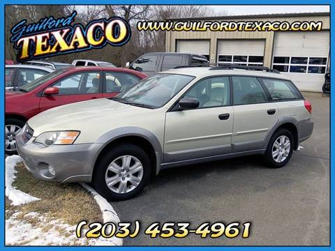 2005 Subaru Outback for sale at GUILFORD TEXACO in Guilford CT