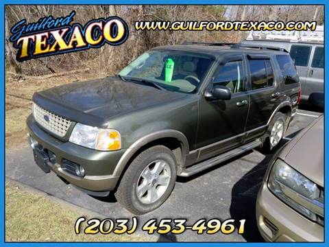 2003 Ford Explorer for sale at GUILFORD TEXACO in Guilford CT