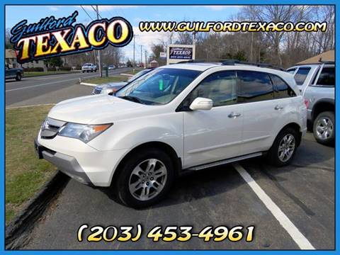 2008 Acura MDX for sale at GUILFORD TEXACO in Guilford CT