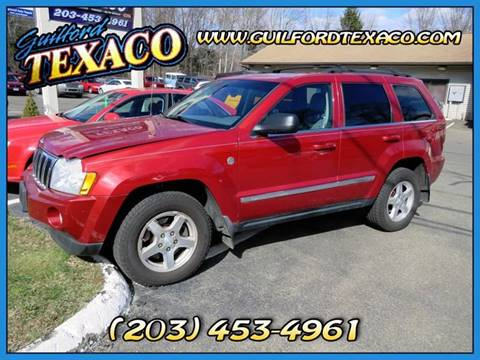 2005 Jeep Grand Cherokee for sale at GUILFORD TEXACO in Guilford CT