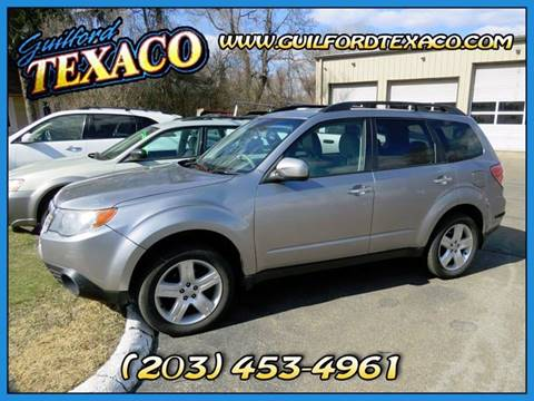 2010 Subaru Forester for sale at GUILFORD TEXACO in Guilford CT
