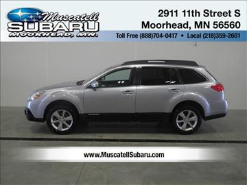 2013 Subaru Outback for sale in Moorhead, MN