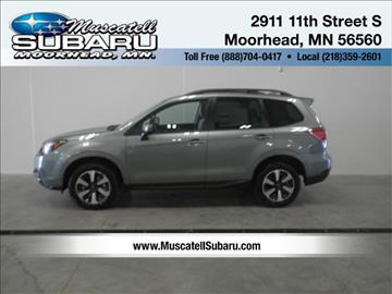 2018 Subaru Forester for sale in Moorhead, MN