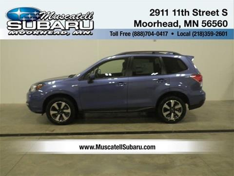 2018 Subaru Forester for sale in Moorhead, MN