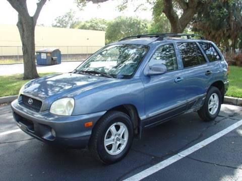 2002 Hyundai Santa Fe for sale in St Petersburg, FL