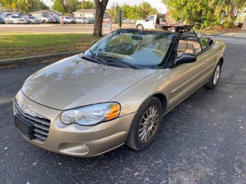 2004 Chrysler Sebring LXi for sale at Florida Prestige Collection in St Petersburg FL
