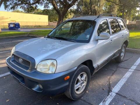 2004 Hyundai Santa Fe for sale at Florida Prestige Collection in St Petersburg FL