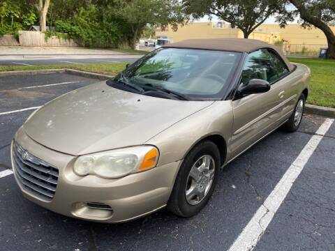 2004 Chrysler Sebring for sale at Florida Prestige Collection in St Petersburg FL