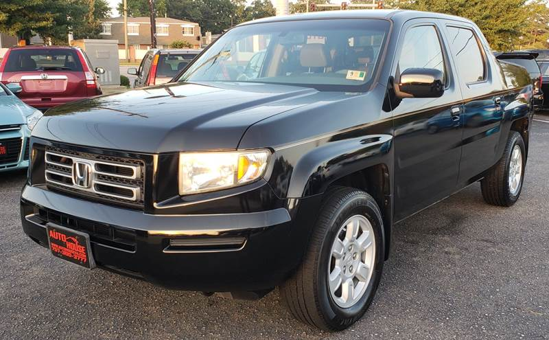 2006 Honda Ridgeline For Sale At Auto House LLC In Virginia Beach VA