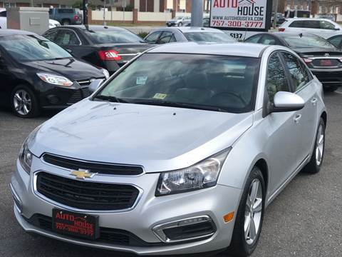 2015 Chevrolet Cruze for sale in Virginia Beach, VA