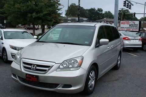 2007 Honda Odyssey for sale in Virginia Beach, VA