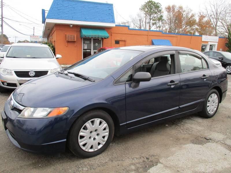 2006 Honda Civic For Sale At Auto House LLC In Virginia Beach VA