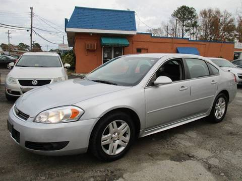 2011 Chevrolet Impala for sale in Virginia Beach, VA