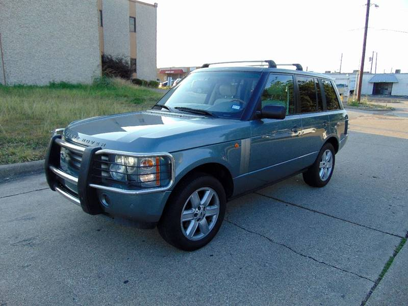 2003 Land Rover Range Rover for sale at Image Auto Sales in Dallas TX