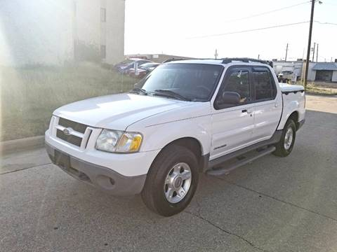 2001 Ford Explorer Sport Trac for sale at Image Auto Sales in Dallas TX