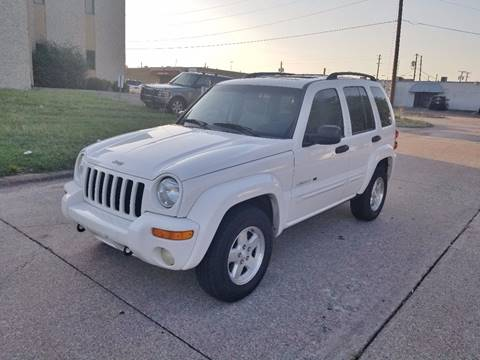 2002 Jeep Liberty for sale at Image Auto Sales in Dallas TX