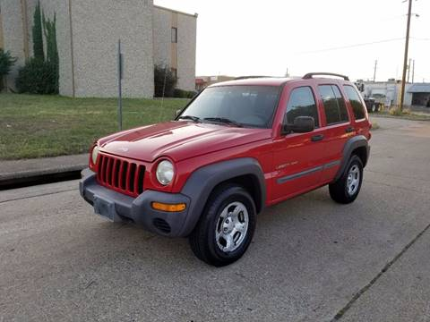 2002 Jeep Liberty for sale at Image Auto Sales in Dallas TX