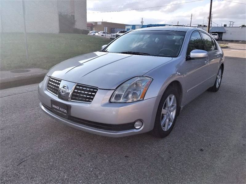 2005 Nissan Maxima For Sale At Image Auto Sales In Dallas TX