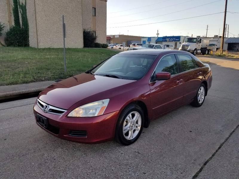 2006 Honda Accord For Sale >> 2006 Honda Accord Ex W Leather In Dallas Tx Image Auto Sales