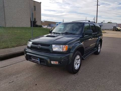 2001 Toyota 4Runner for sale at Image Auto Sales in Dallas TX