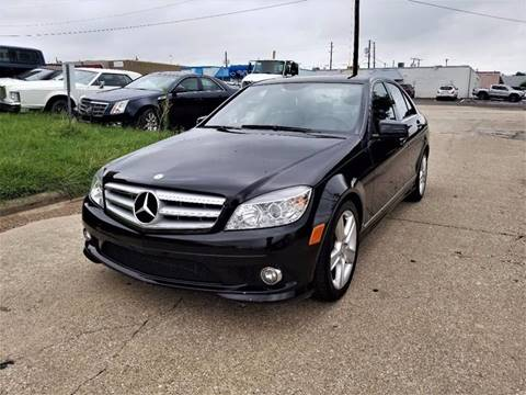 2010 Mercedes-Benz C-Class for sale at Image Auto Sales in Dallas TX
