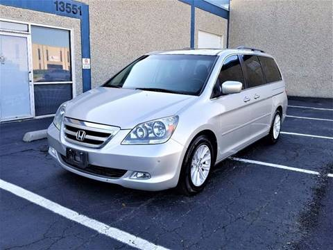 2005 Honda Odyssey for sale at Image Auto Sales in Dallas TX