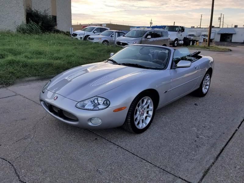 2001 Jaguar XKR for sale at Image Auto Sales in Dallas TX