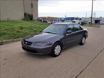 1999 Honda Accord for sale at Image Auto Sales in Dallas TX