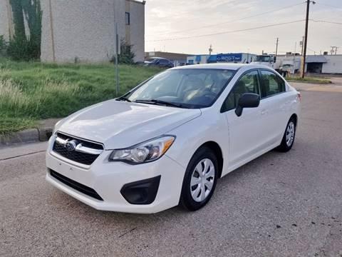 2012 Subaru Impreza for sale at Image Auto Sales in Dallas TX